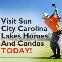Visit CarolinaLakesHomesAndCondos.com and read about the area including Sun City